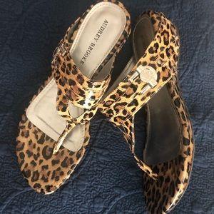Cute Leopard Print Sandals